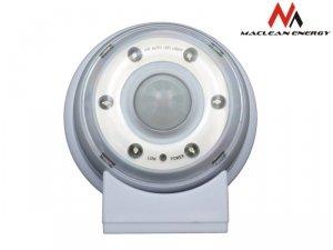 Maclean Lampa LED z sensorem ruchu, magnes, stojak, haczyk czas świecenia 20s 60s 90s 4xAAA Energy MCE02