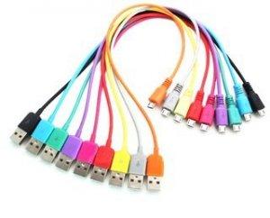 4world Kabel USB 2.0 MICRO 5pin, AM / B MICRO transfer/ładowanie 1.0m żółty