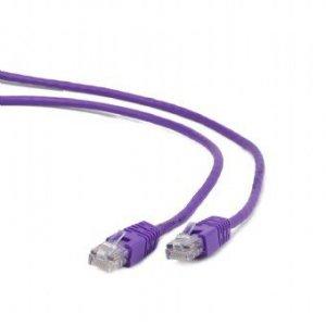 Gembird Patch cord kat.5e osłonka zalewana 0.5M fioletowy