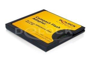 Delock Adapter karty Micro SD/SDHC/XC->CompactFlash