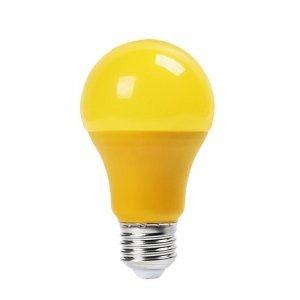 V-tac Żarówka LED VT-2000Y 9W A60 E27 żółta 570LM