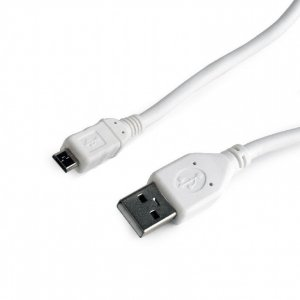 Gembird Kabel micro USB2.0 AM-MBM5P/10cm/biały