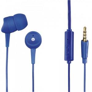 Hama Słuchawki z mikrofonem Basic4Phone niebieskie