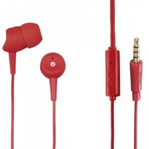 Hama Słuchawki z mikrofonem Basic4Phone czerwone