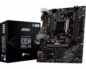MSI Płyta główna B365M PRO-VH s1151 2DDR4 HDMI/VGA uATX