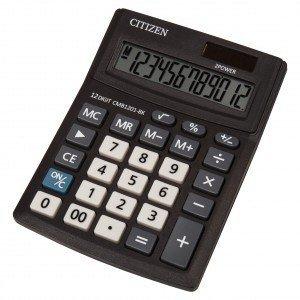 Citizen Kalkulator biurowy serii Business Line CMB1201-BK
