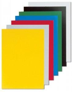 Fellowes Okładki kartonowe Chromo A4 białe, 100 sztuk