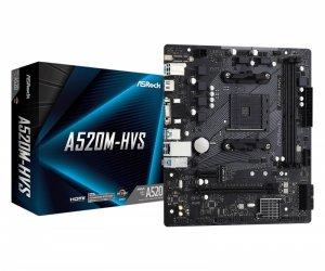 ASRock Płyta główna A520M-HVS AM4 2DDR4 HDMI/VGA M.2 mATX