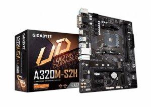 Gigabyte Płyta główna A320M-S2H 3.0 AM4 A320M 2DDR4 HDMI/DVI/D-SUB uATX
