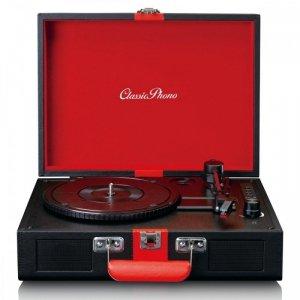 LENCO Gramofon TT-110BKRD