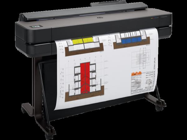 Ploter HP DesignJet T650 36″ (5HB10A) + Tusz czarny HP 80ml Oryginał oraz 50m papieru GRATIS + zwrot od HP