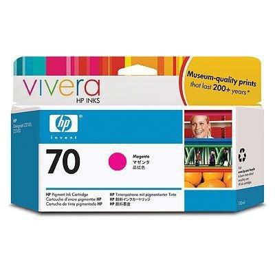 Tusz HP 70 magenta (130ml) Vivera C9453A