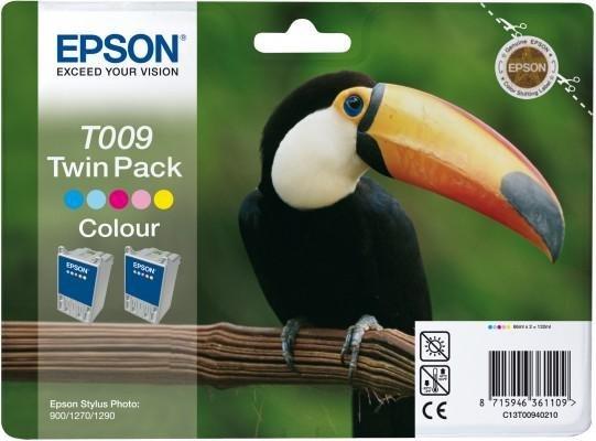 Tusz (Ink) T009 color do Epson Stylus Photo 900/1270/1290, wyd. do 2x330 str. - Dwupak