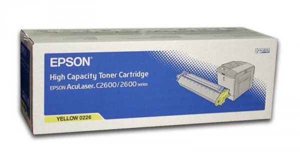 Toner yellow do Epson AcuLaser 2600N/DN/DTN/TN C2600N/DTN wyd. 5000 str.