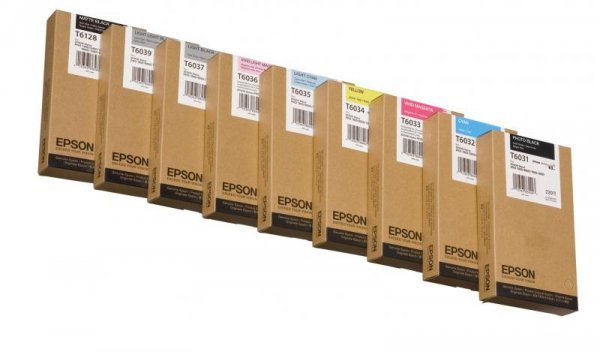 Atrament Light Cyan 220 ml do Epson Stylus Pro 7800/7880/9800/9880 C13T603500