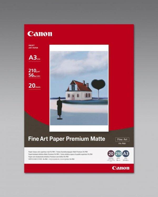 Papier FINE ART PAPER PREMIUM MATTE FA-PM1 A3/20ark 210g