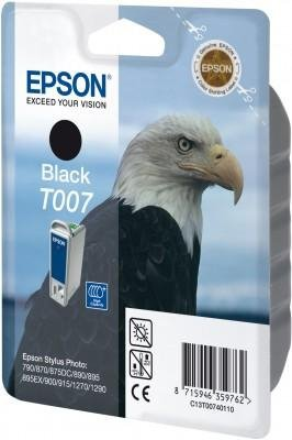 Tusz (Ink) T007 black do Epson Stylus Photo 870/890/915/1270/1290, wyd. do 540 str.