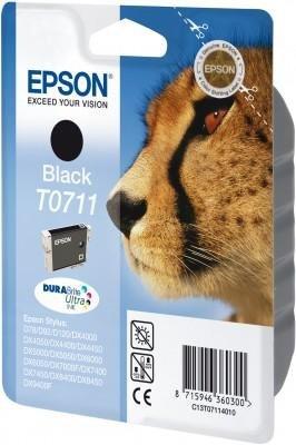 Wkład czarny do Epson Stylus D78/92/120/DX4000/4050/5000/5050/6000/6050/ 7000F/7400/8400/9400. T0711