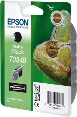 Atrament do Epson Stylus Photo 2100 - czarny matowy T0348