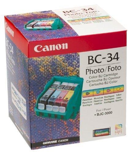 Wkład z głowicą Canon BC-34 do BJC-3000; wydajnosc 3000 stron