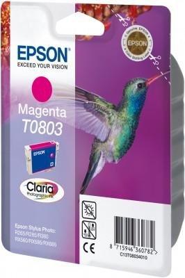 Wkład magenta do Epson Stylus Photo R265/360/RX560/585/685; T0803