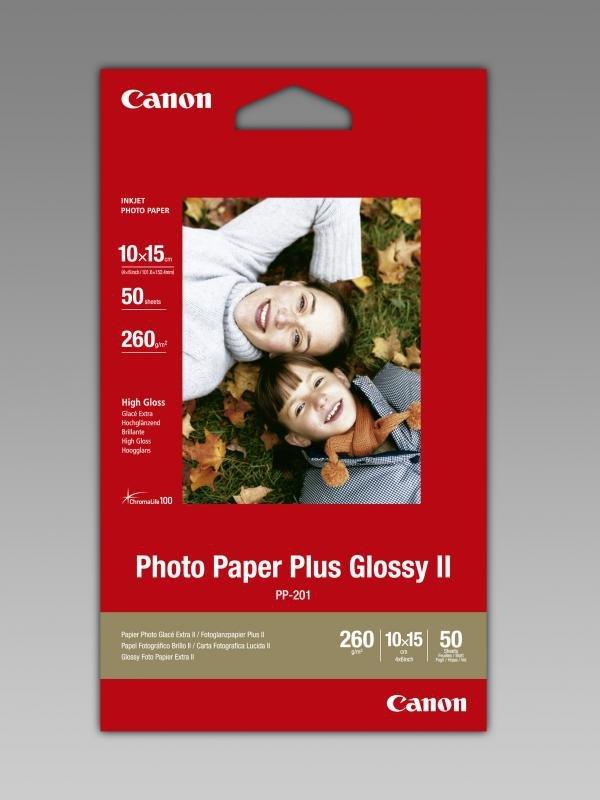 Papier PP-201 10x15/50sh Photo Paper Plus Glossy II