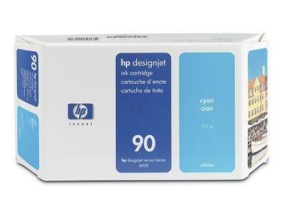 Tusz (Ink) HP 90 cyan (225ml) do DnJ 4000/4000PS/4020/4500/4500PS/4520 C5060A