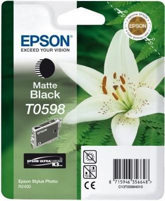 Wkład matt black do Epson Stylus Photo R2400 T0598