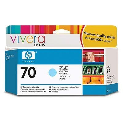 Tusz HP 70 light cyan (130ml) Vivera C9390A