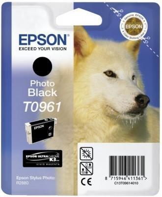 Tusz (Ink) T0961 photo black do Epson Stylus Photo R2880