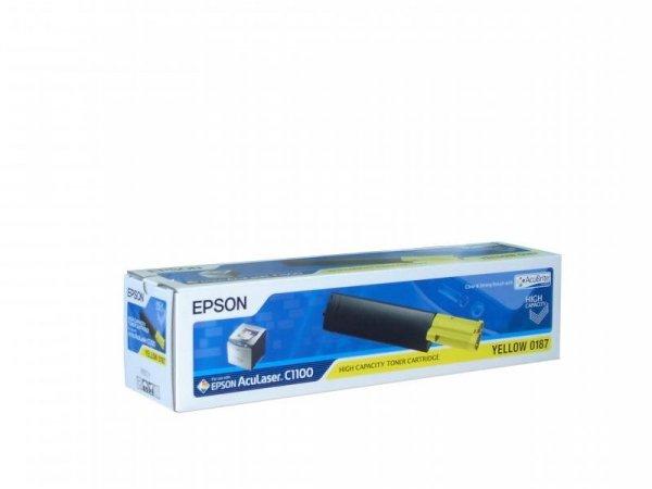 Toner yellow do epson AcuLaser C1100/CX11 wyd. 4000. stron A4 przy 5% pokryciu