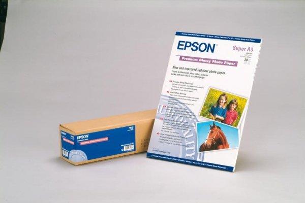Papier Epson Premium Glossy Paper A3 20 arkuszy 255g/m2 S041315