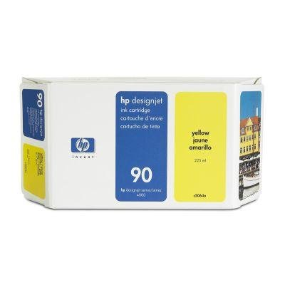 Tusz (Ink) HP 90 yellow (225ml) do DnJ 4000/4000PS/4020/4500/4500PS/4520 C5064A