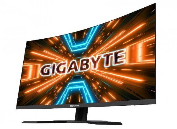 Gigabyte Monitor 31.5 cali G32QC GAMING 1ms/QHD/HDMI/12mln:1/USB