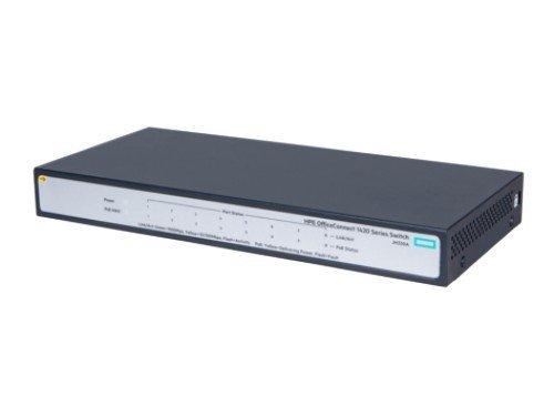 Hewlett Packard Enterprise 1420 8G PoE+ (64W) Switch JH330A