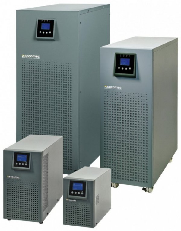 Socomec UPS ITYS 2000VA/1600W TOWER ON-LINE VFI 6xIEC320/EPO