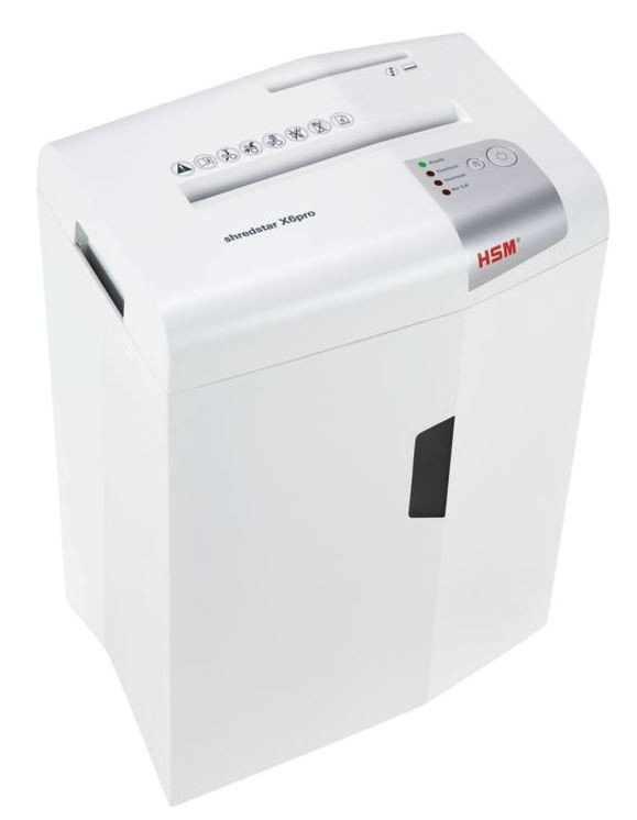 HSM Niszczarka shredstar X6pro cc2x15 P-5,CD