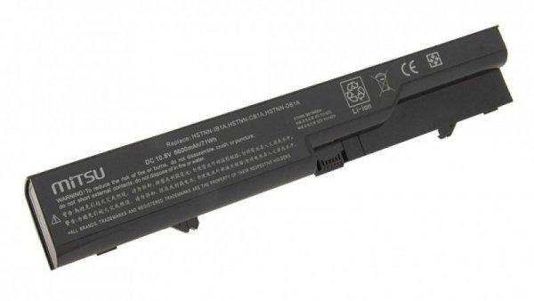 Mitsu Bateria do HP ProBook 4320s, 4520s 6600 mAh (71 Wh) 10.8 - 11.1 Volt