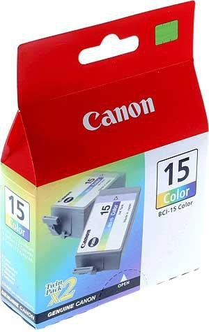 Tusz Canon kolorowy BCI-15C (2 szt.)