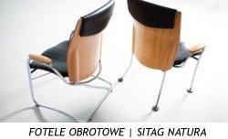 FOTELE OBROTOWE | SITAG NATURA