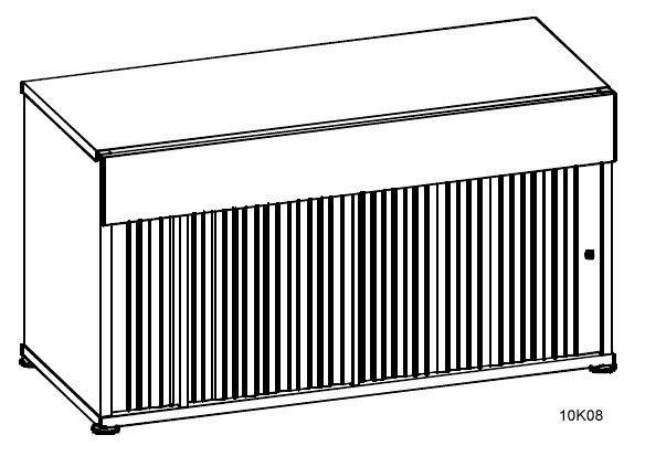 Szafka Simplic wym:szer/wys/gł: 140cm/163cm/ 74cm, szafka żaluzjowa szafka