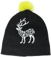 Czapka Slope Wild Deer Black
