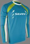 Koszulka męska z długim rękawem Silvini Reno