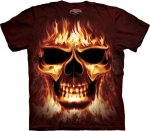 THE MOUNTAIN KOSZULKA T-SHIRT SKULFIRE  10-6008