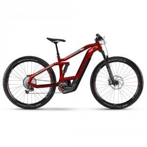 Rower Elektryczny Haibike SDURO FullNine 8.0 29 Czerwono-Czarny
