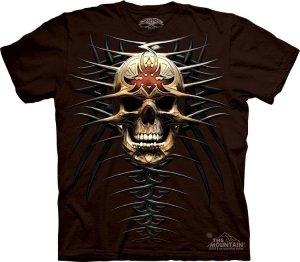 Koszulka THE MOUNTAIN TRIBAL SKUL 10-6014