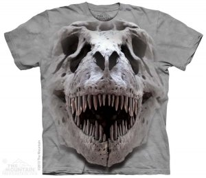 KOSZULKA T-SHIRT THE MOUNTAIN REX BIG SKULL 10-3778