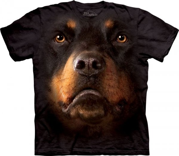 Koszulka THE MOUNTAIN ROTTWEILER FACE 10-3263