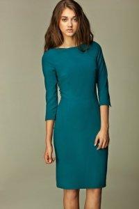Sukienka Veronique s30 lazurowa