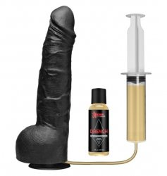 Kink Wet Works Drencher - Silicone Squirting Cock